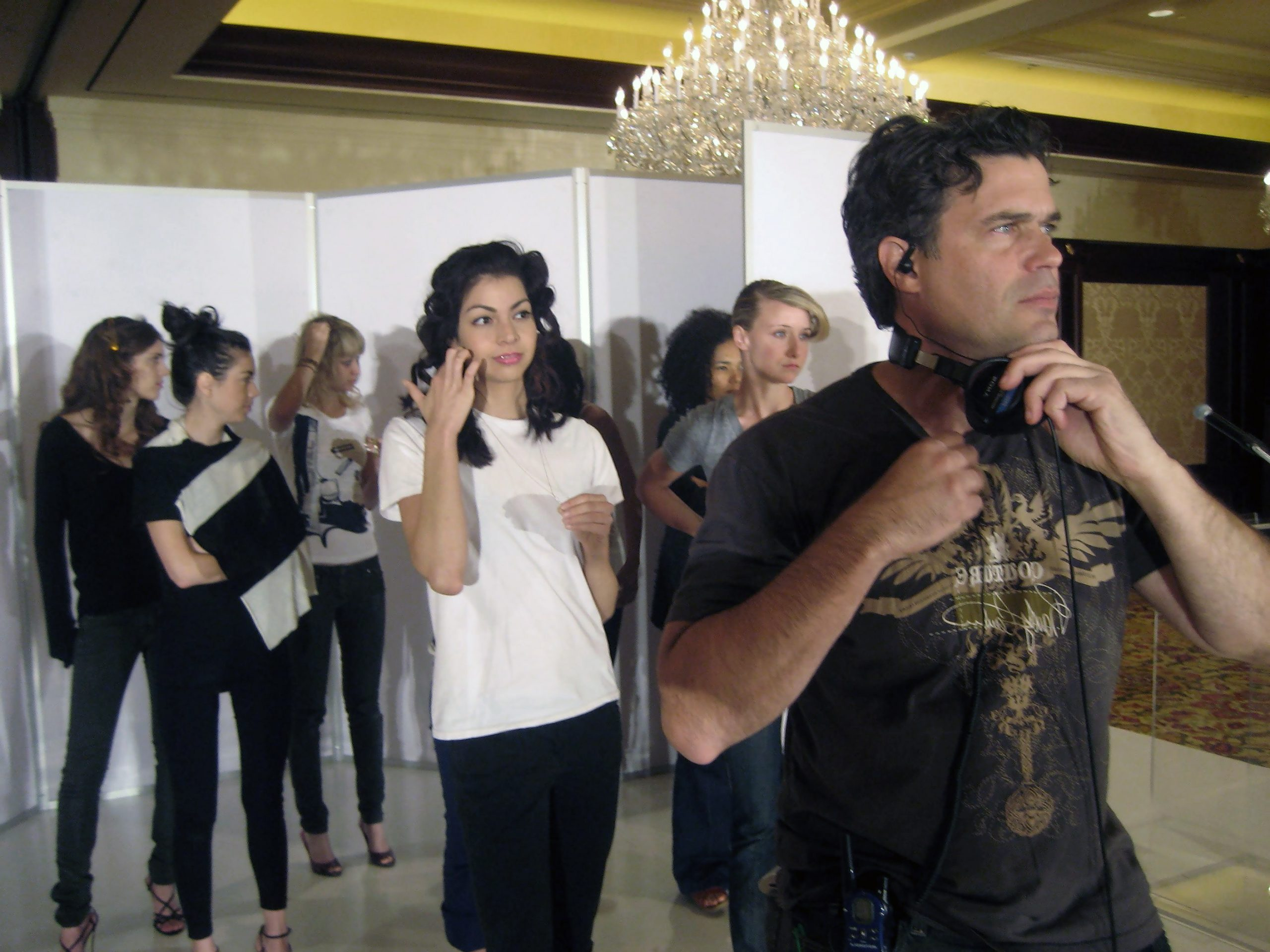 Live Fashion Show and Commercial